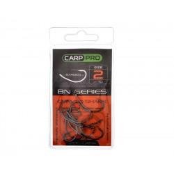 CarpPro Curved Shank Black Nickel