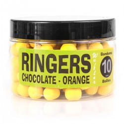 Yellow Chocolate Wafters 6mm (Dumbells)