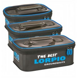 Lorpio Eva Groundbait Bucket With Cover Zestaw 250, 350, 450