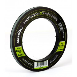 Matrix Horizon X Tapered Shock Leader - 8lb / 12lb (12m) x5