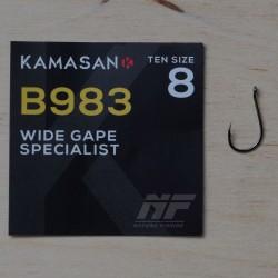 Kamasan B983 Barbed Eyed