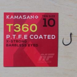 Kamasan T360 Eyed X-Strong PTFE Coated