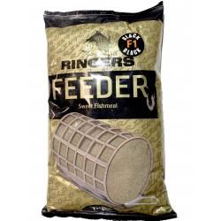 Sweet Feeder Groundbait Black 1kg