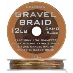 Plecionka przyponowa GRAVEL BRAID 10M - 8LB / 3.6KG