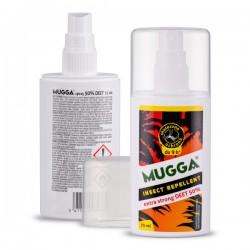MUGGA STRONG SPRAY DEET 50% Na komary i kleszcze