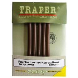 Rurka termokurczliwa TRAPER brązowa