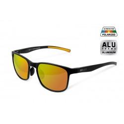 Okulary polaryzacyjne Delphin SG BLACK pomarańczowe szkła