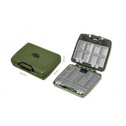 Pudełko Delphin TBX Duo 105-18P 105x92x30mm