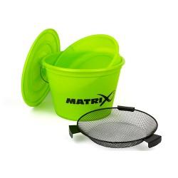 Matrix Bucket Set inc tray LIME
