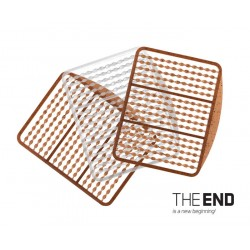 Stoperki Simple THE END / 270szt G-ROUND + transp