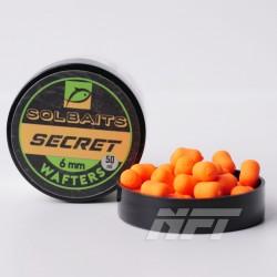 Solbaits Wafters 6mm Secret - Pomarańczowy