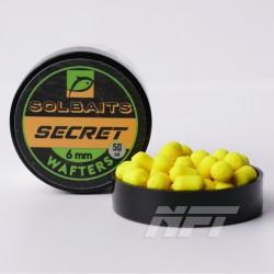 Solbaits Wafters 6mm Secret - Żółty