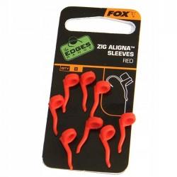 FOX Zig Aligna Sleeves x 8 Red