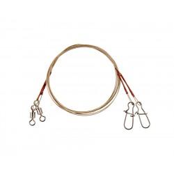 Flagman Wire Leader  1x7   5 kg  15, 20, 25 cm