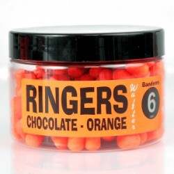 Orange Chocolate Wafters 6mm (Dumbells)