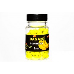 Dumbels 8 mm Banan
