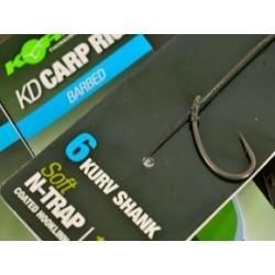 Przypony Korda N-Trap KD Carp Rigs Kurv Shank nr 2