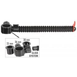 Uchwyt feeder Traper GST Carbo Click (Ø25/30/36mm - 20cm)