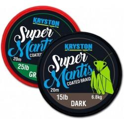 Kryston Super Mantis 25Lb Green (Coated Ultra Braid)