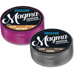 Kryston Magma 45LB Brown (Armour Coated Braid)