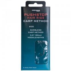 Drennan Pushstop hair rigs carp method size 12