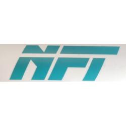 Naklejka NFT duża- turkusowa
